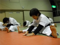 空手道 禅道会 島根道場 練習風景